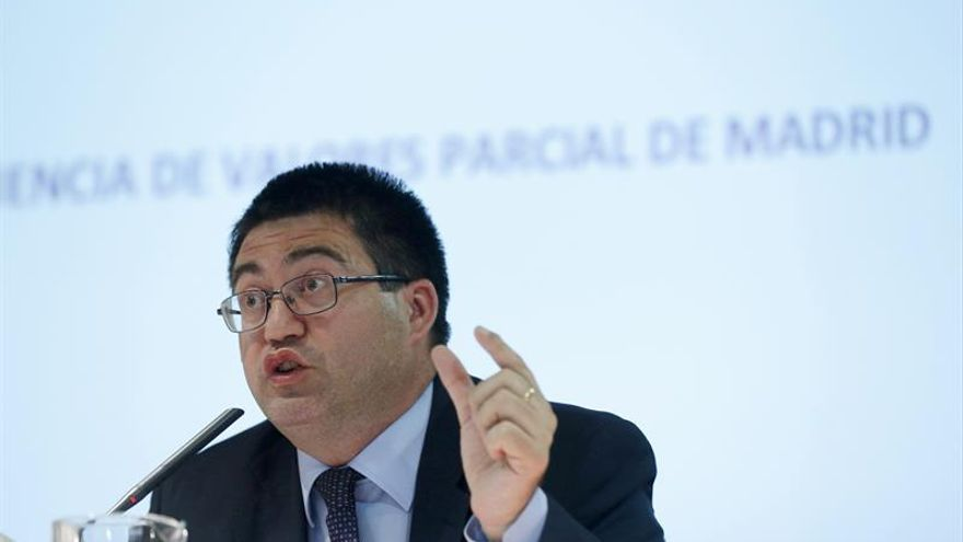 El Concejal de Hacienda y Economia del Ayuntamiento de Madrid, Carlos Sanchez Mato.