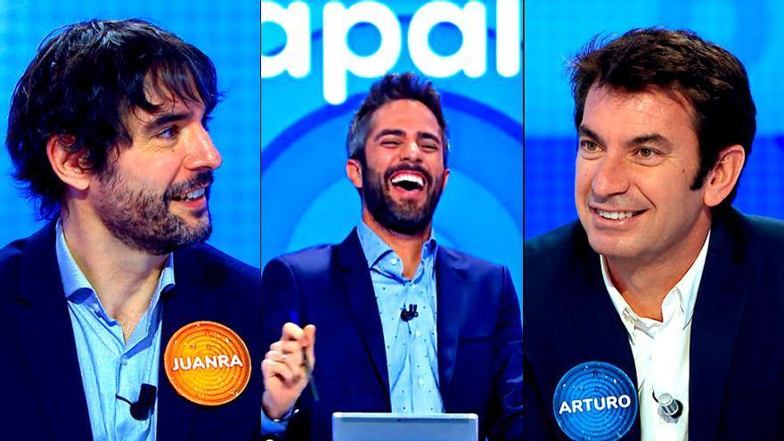 """'Pasapalabra' vivió el """"crossover"""" de las nuevas tardes de Antena 3"""