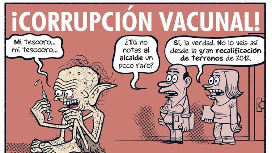 Corrupción vacunal