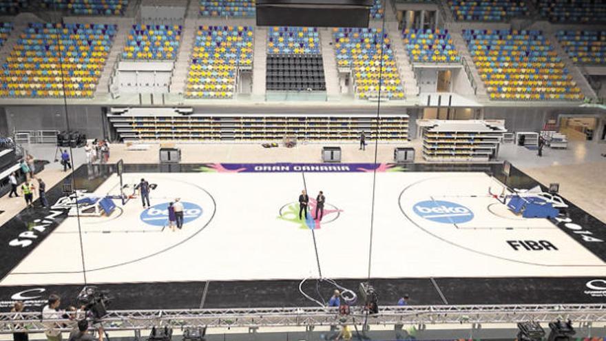 Vista del Gran Canaria Arena. Ángel Medina (Efe)