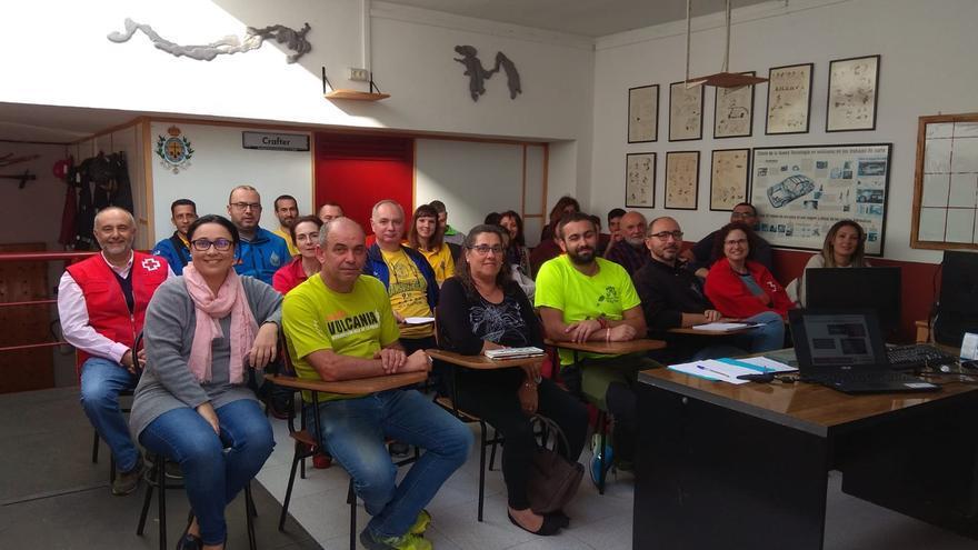 Un momento del curso para colectivos de voluntarios.