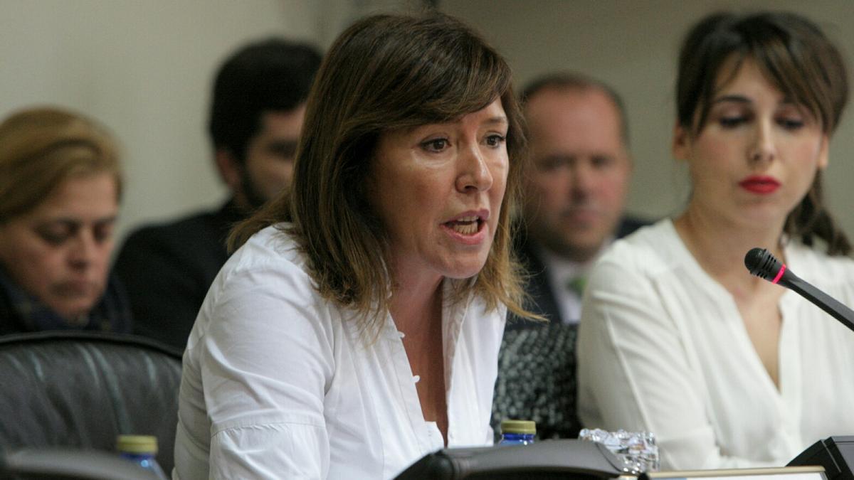 Beatriz Mato, durante su etapa en la Consellería de Medio Ambiente