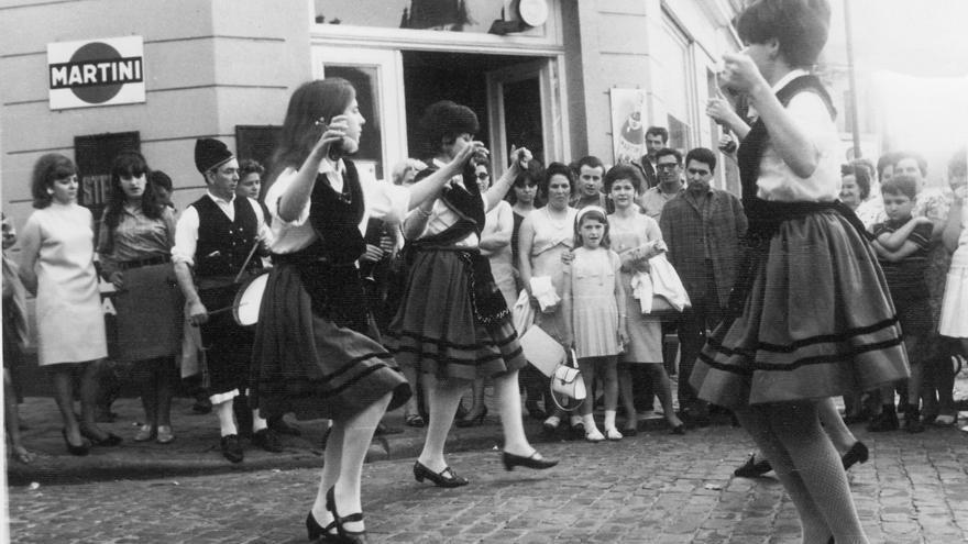 Recuerdos en blanco y negro de la emigración española a Bélgica