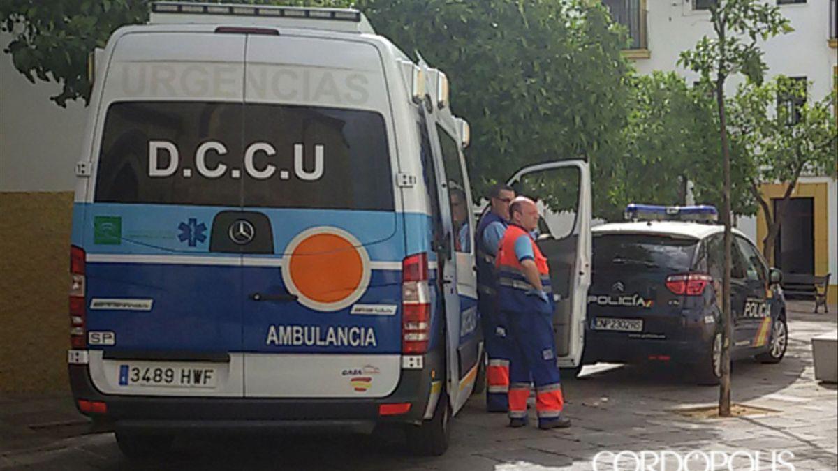 Una ambulancia en una imagen de archivo