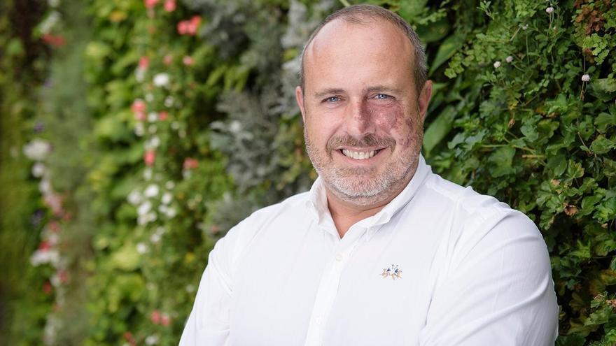 El portavoz de Ciudadanos en el Cabildo de Tenerife (Cs), Enrique Arriaga