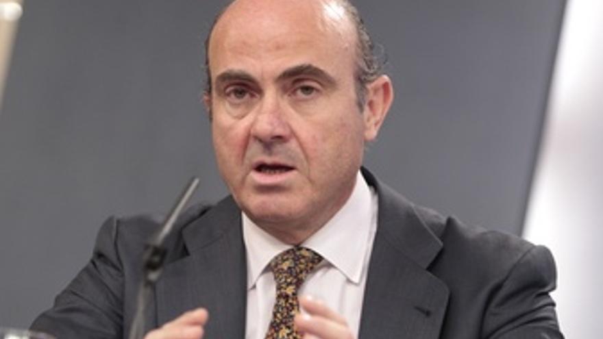 El ministro Luis de Guindos. (EUROPA PRESS)
