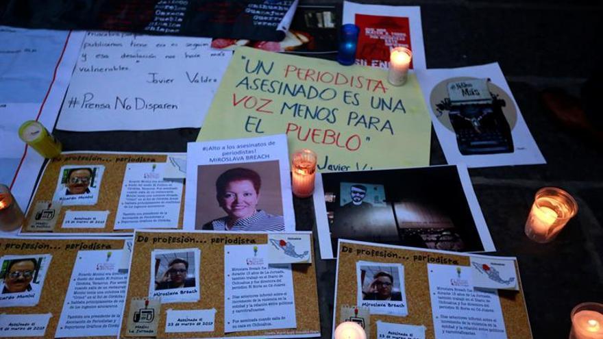 RSF a Peña Nieto: México es el país más mortífero para los periodistas en 2017