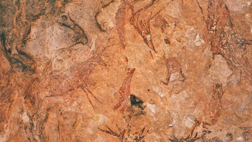 Arte rupestre levantino en Nerpio (Albacete)