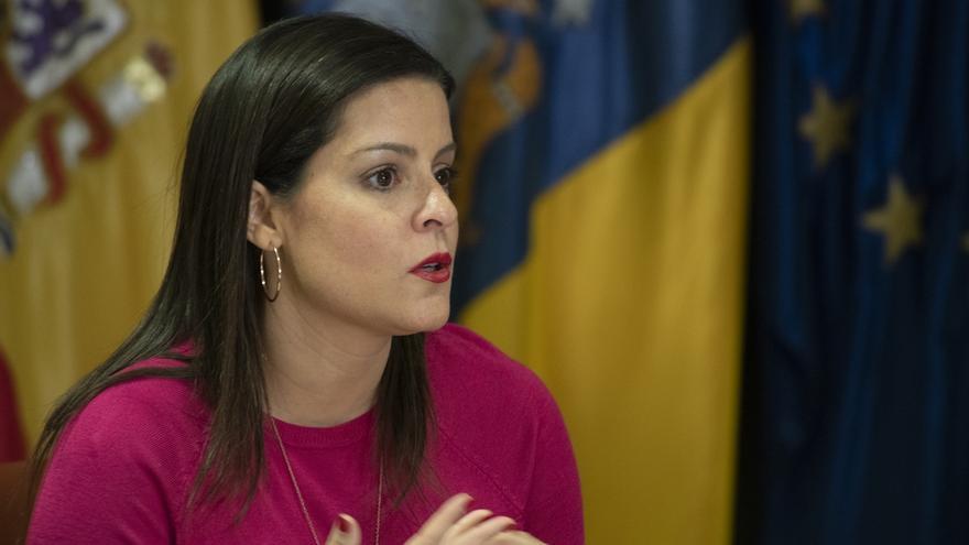 Yaiza Castilla, Consejera de Turismo, Industria y Comercio del Gobierno de Canarias.