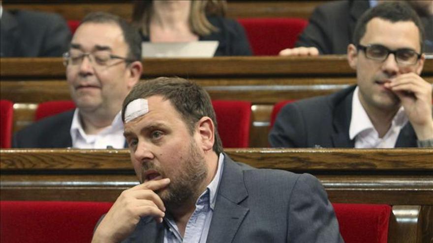 Junqueras (ERC) se reserva su apoyo a los presupuestos de la Generalitat
