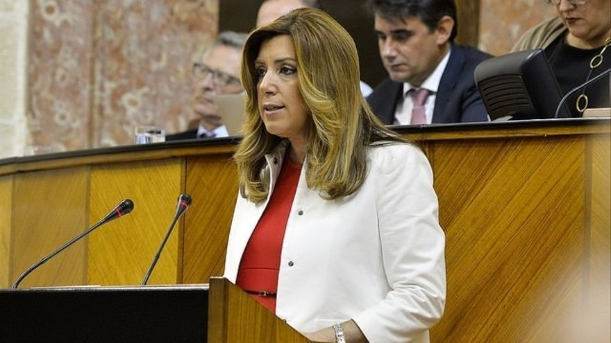 Díaz afronta este martes la segunda sesión del debate sin apoyos ajenos al PSOE-A en primera votación