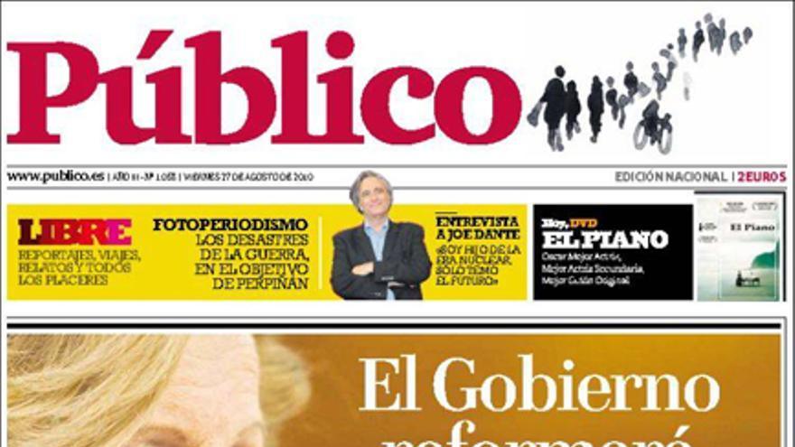 De las portadas del día (27/10/2010) #11