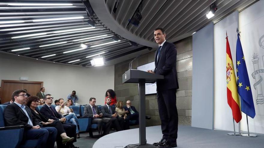 Sánchez subraya que su Gobierno estará abierto al diálogo y al consenso
