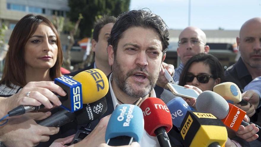 Cs pide al presidente de Murcia que se someta a una cuestión de confianza