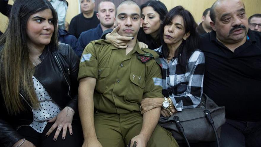 El soldado que mató a un palestino inmovilizado, condenado por homicidio