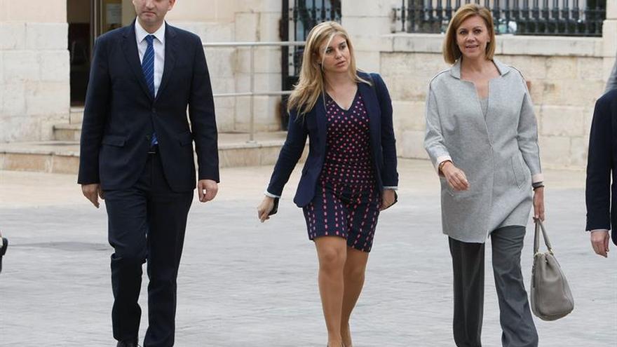Cospedal defiende que estos meses han reafirmado el liderazgo de Rajoy