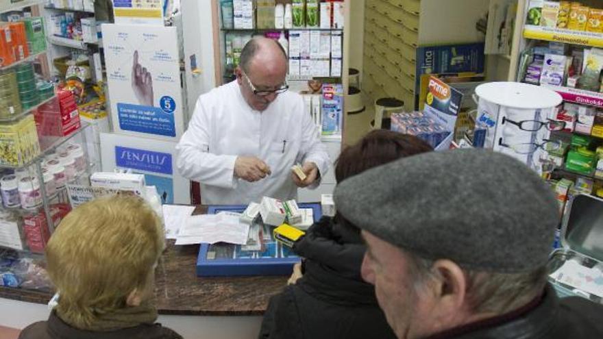Imagen de archivo de una farmacia rural