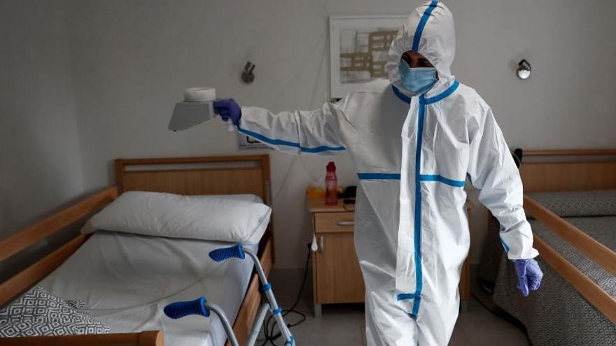 Desinfección con ozono de una residencia.