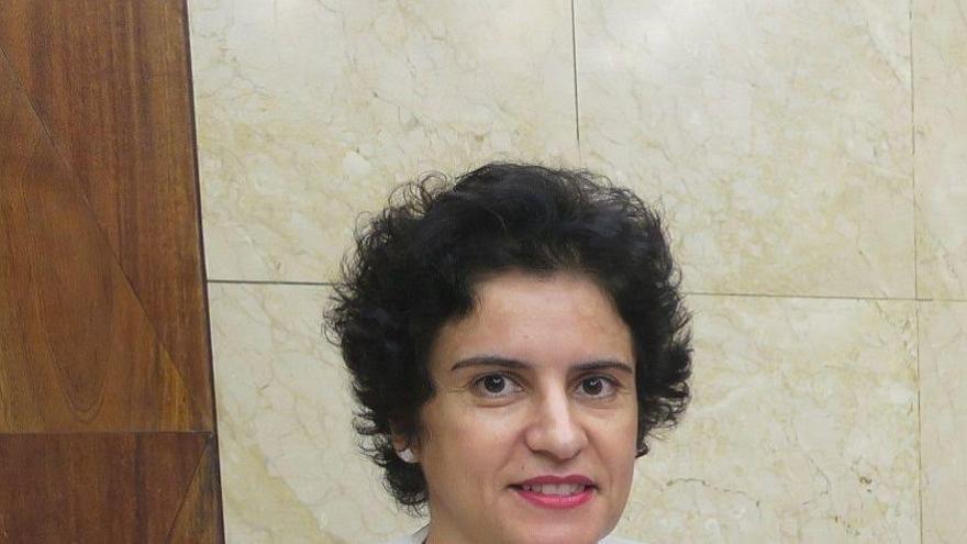 Jovita Monterrey Yanes en consejera de Asuntos Sociales.