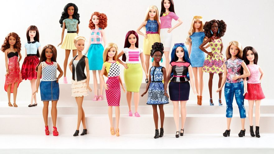 Barbie sacará al mercado una nueva gama de muñecas más diversas de lo habitual