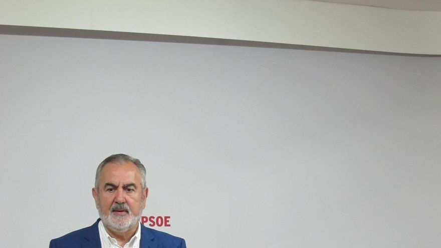 Líder del PSOE de Murcia cree que si Rajoy fracasa, toda la oposición debe buscar soluciones, no sólo los socialistas