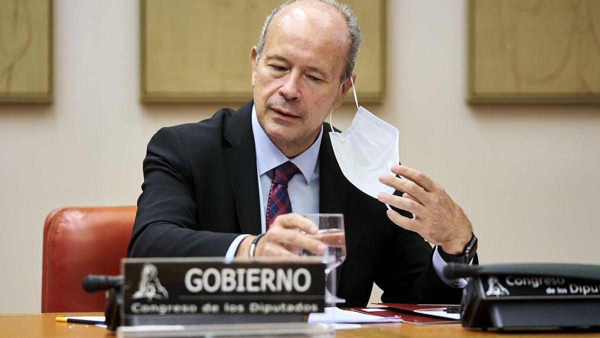 El ministro de Justicia, Juan Carlos Campo. EUROPA PRESS