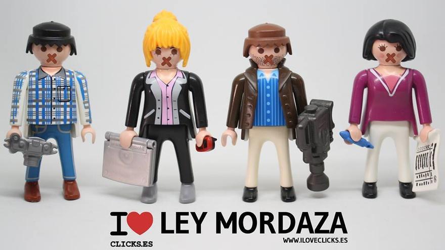 I love Ley Mordaza