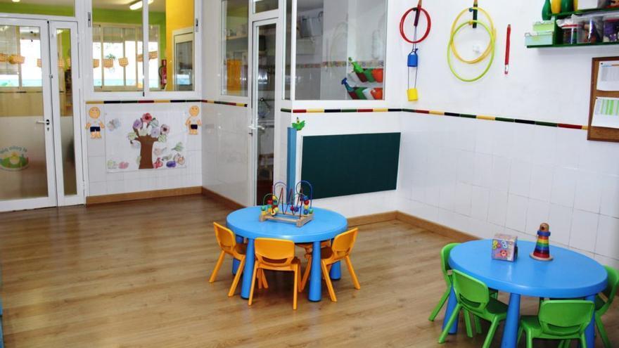 Parte de las instalaciones de la escuela infantil en Sevilla.