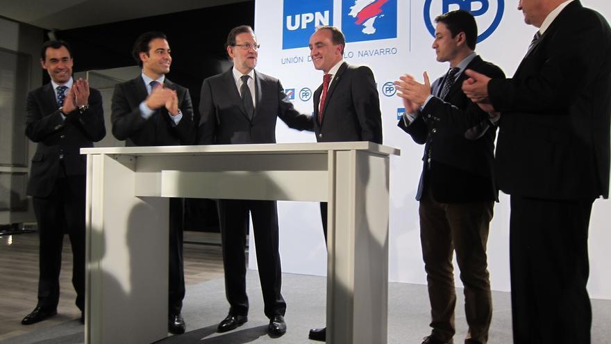 """El presidente de UPN defiende el pacto con el PP para las elecciones generales y afirma que """"tocaba unir fuerzas"""""""