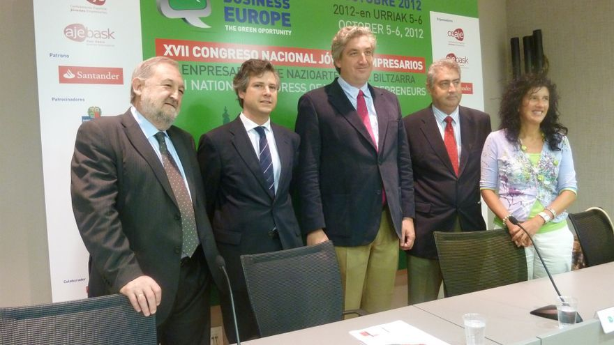 El congreso nacional de jóvenes empresarios reunirá en Vitoria a cerca de 500 emprendedores