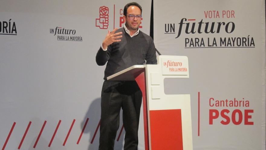 """Hernando (PSOE): """"España necesita un presidente decente que haga políticas decentes"""""""