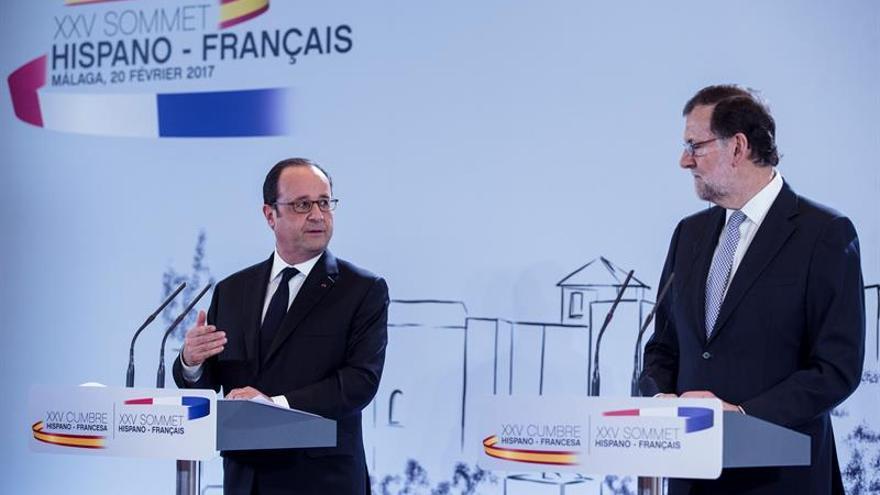 Rajoy visualizará en Versalles que España se instala en el eje de la UE a 27