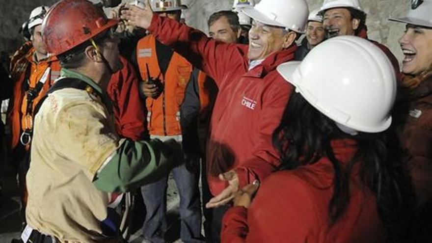 Del rescate en la mina chilena #4
