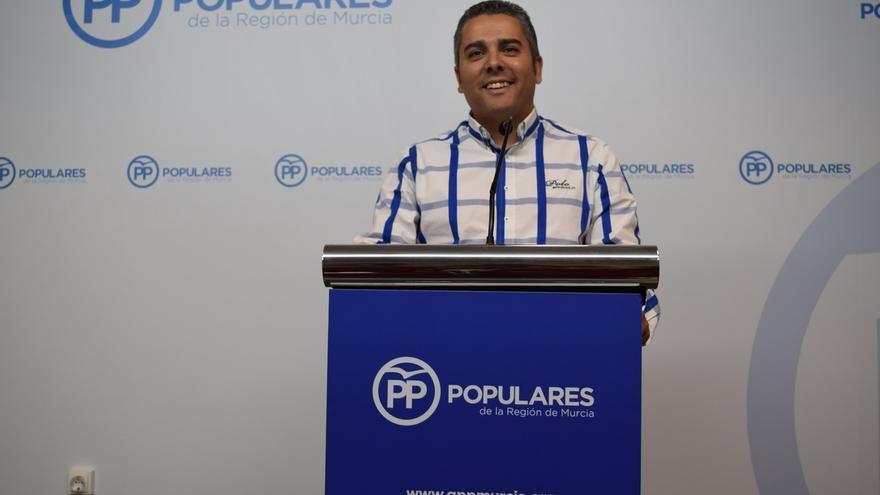 """Cano (PP): """"Tovar tiene urgencia en un Pacto del Agua pero impide la comparecencia de López Miras en la Asamblea"""""""