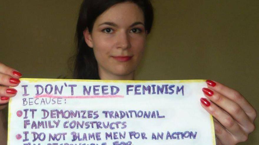 Mujeres contra el feminismo