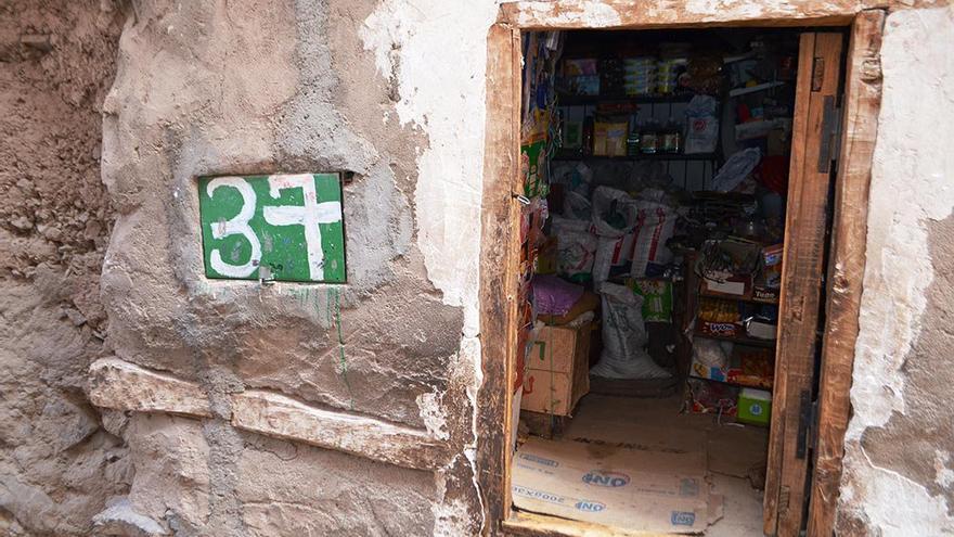 Pequeña tienda al borde del camino. (Cedida a Canarias Ahora).