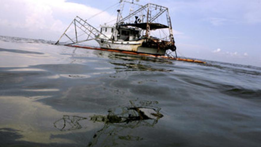 Vertido de petroleo de BP en el Gofo de Mñexico