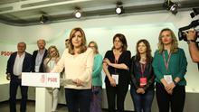 Los críticos con Susana Díaz en Andalucía le plantarán cara en los congresos provinciales