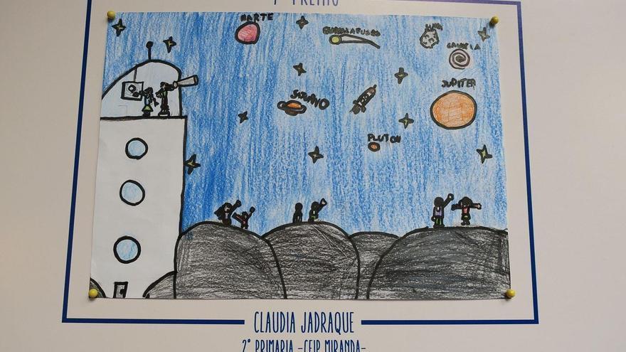 Primer premio: Claudia Jadraque, alumna de 2º del Centro de Educación de Infantil y Primaria (CEIP) Miranda.