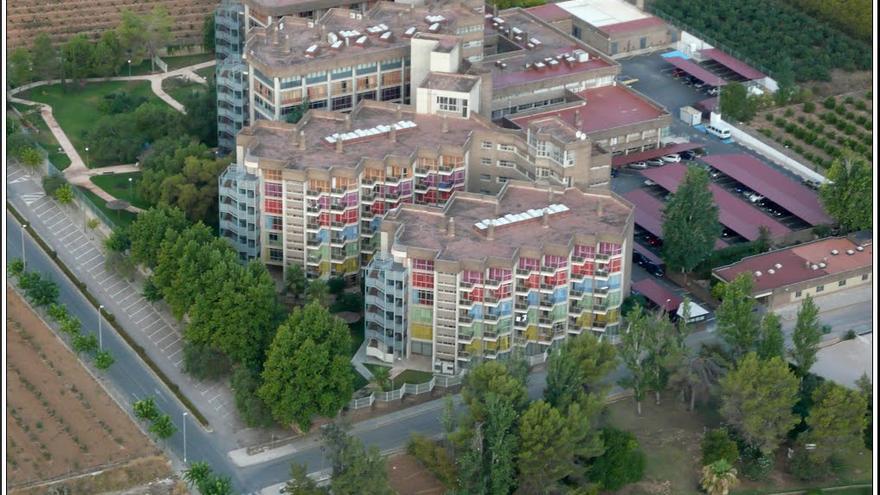 La residencia de mayores de Carlet, con más de 500 plazas.