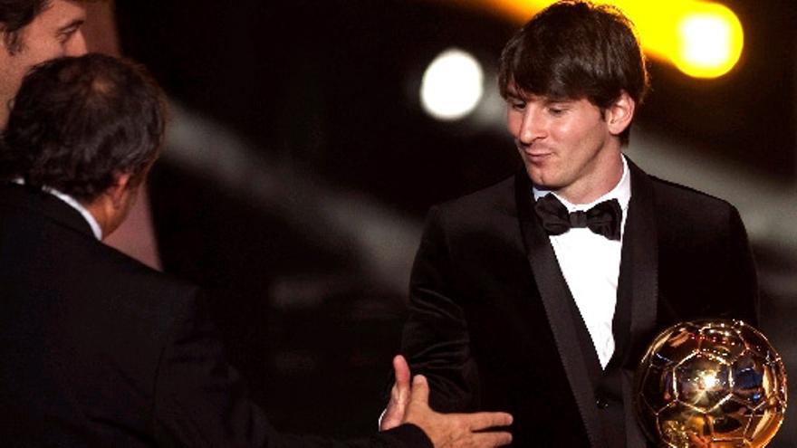 Messi arrebata el Balón de Oro a los españoles ante casi un 30% del público en TV3
