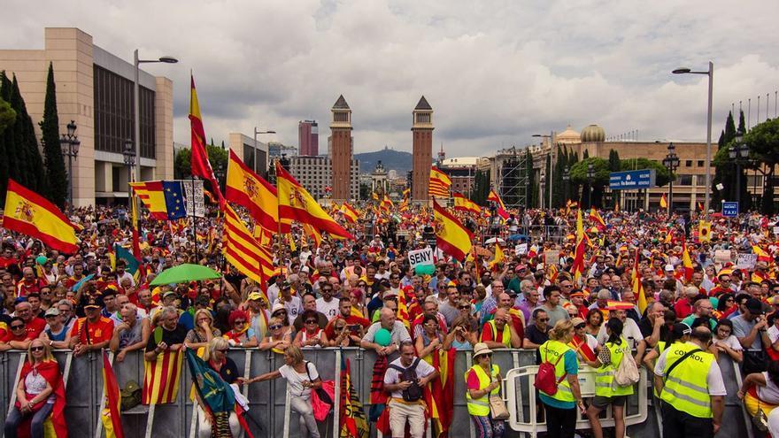 Manifestación de este domingo en Barcelona