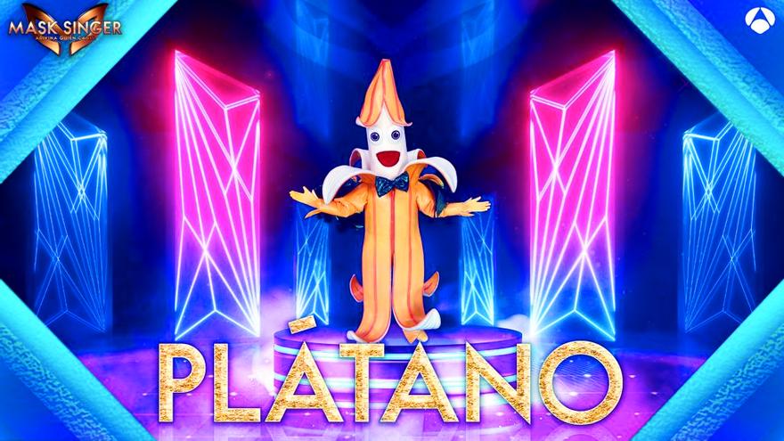 'Plátano', nueva máscara oficial de 'Mask Singer 2'