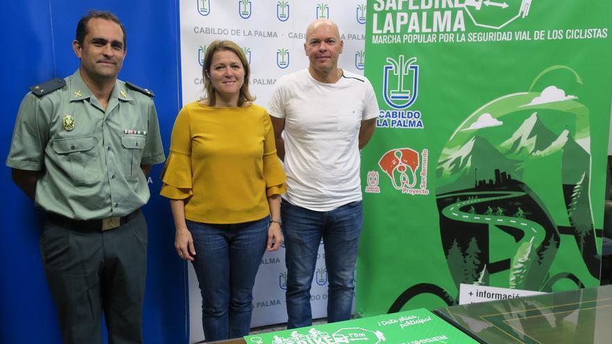 Presentación de la edición de 'Safe Bike La Palma 2017'.