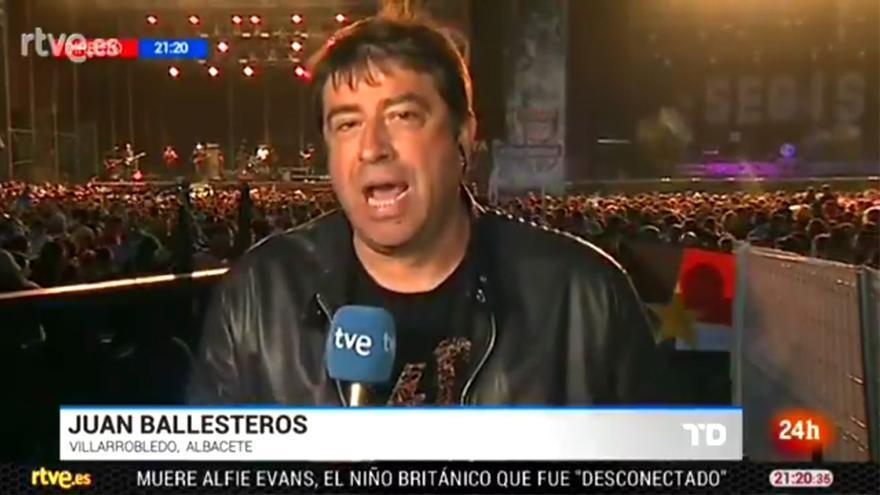 El directo desde el Viñarock para TVE