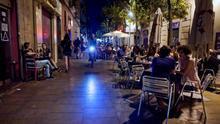 Terrazas de la calle Blai, en Barcelona / Enric Català