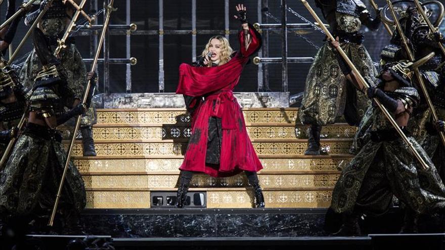 Madonna deslumbra en Barcelona, en el primero de sus dos conciertos en España