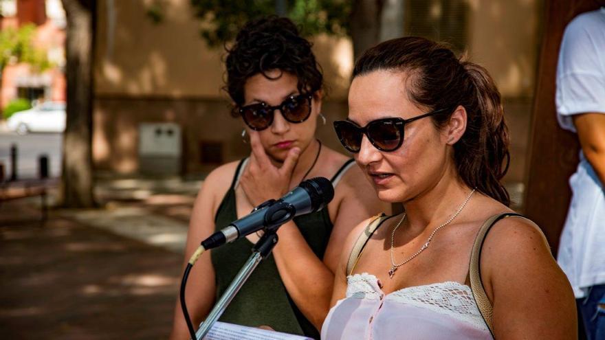 Manifestación en contra del antigitanismo: intervención de asistentes