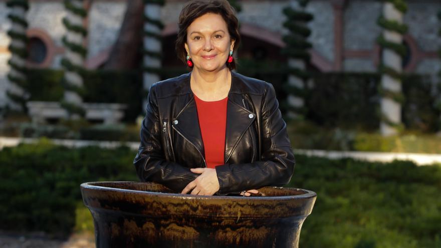 La escritora Clara Sánchez, ganadora del Premio Planeta 2013. / Marta Jara