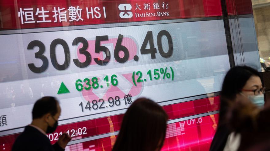 El aumento del comercio exterior chino despierta al parqué hongkonés